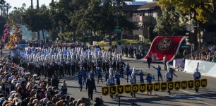 PCMB Performs in the Rose Bowl Parade