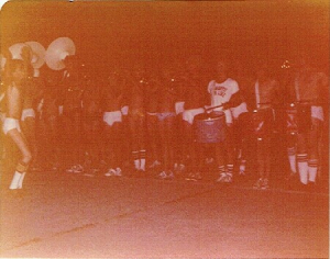 Midnight Concert at Camp Innisfree band camp, August 1977