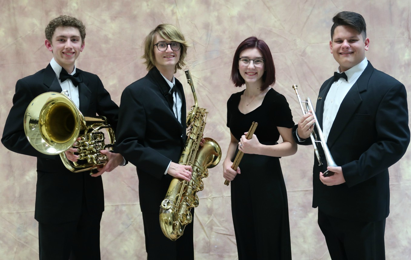 PCMB Students Selected for 2019 All State Band