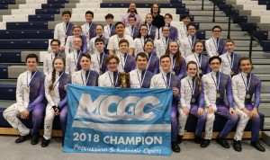 Winter Percussion 2018 State Champions