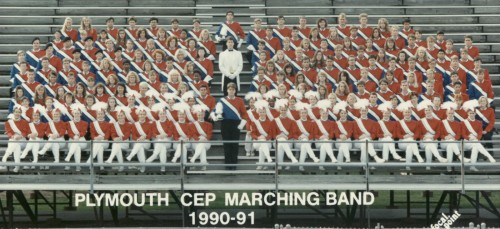 Plymouth CEP Marching Band 1990 / 1991 Season