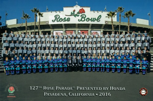 Rose Parade, Pasadena California - 2015