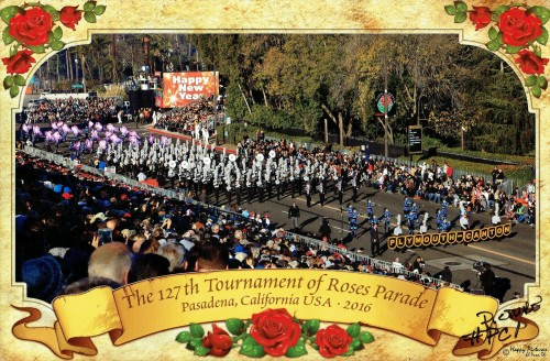 Rose Parade Route 1, Pasadena California - 2015