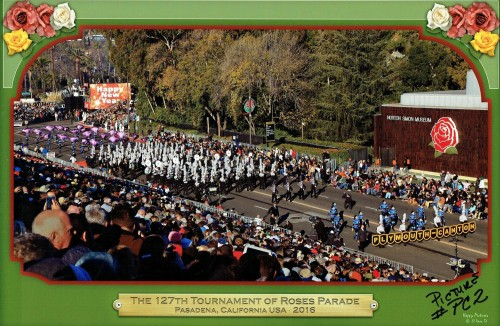Rose Parade Route 2, Pasadena California - 2015