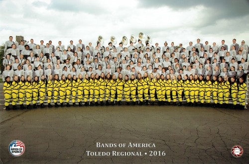 Bands of America Toledo Regionals - 2016