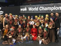 P-CEP Winterguard at World Finals 2018 (Photo: Julie Aldlhoch)