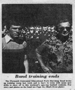 Article - 1974 - Band Camp Ends