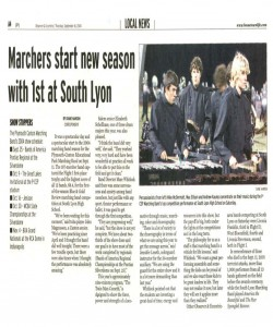 Observer Article (September 16): Our first show of the new 2004 season