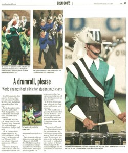 Observer Article (June 13): Covering upcoming DCI hosted by the PCMB