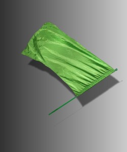 Sterling Lime Flag