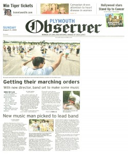 Observer Article (July 31): Martin Montoya new director - Page 1