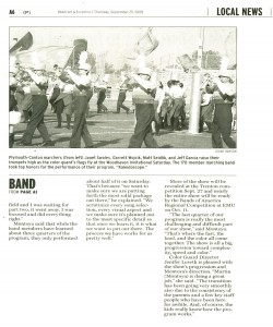 Observer Article (September 25): Band wins at Woodhaven - Page 2