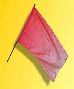 Red Flag: The Red flame flags set off the opener just when things really get going.