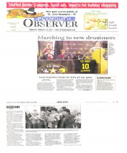Observer Article (November 26): - Army All Stars - Three PCMB marchers were chosen! Read the article to find out who.