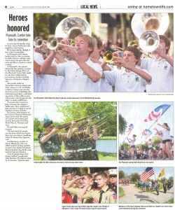 Observer Article - Memorial Day Parade
