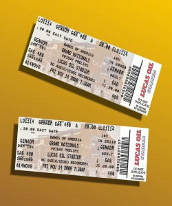Here are a pair of fresh Prelims tickets for Fridays performance