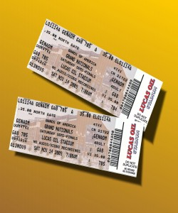 BOA Semi-Finals Tickets: A pair of semis tickets for Saturday`s performance