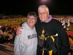 L. John Miller and his wife Kari