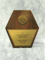 November 16: 1991 BOA Grand National Championship the Indianapolis Hoosier Dome - Best Auxilary - Class AAA