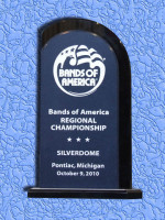 October 9: Bands of America Regional Championship, Pontiac Michigan - 1st Place Class AAAA - Class AAAA