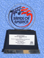 October 9: Bands of America Regional Championship, Pontiac Michigan - Best Visual Class AAAA - Class A