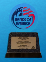 October 6: Bands of America Regional Championship, Pontiac Michigan - Best General Effect Finals