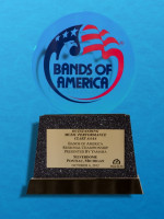 October 6: Bands of America Regional Championship, Pontiac Michigan - Best Music Class AAAA - Class AAAA