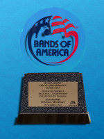 October 6: Bands of America Regional Championship, Pontiac Michigan - Best Visual Class AAAA