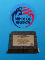 October 6: Bands of America Regional Championship, Pontiac Michigan - Best Visual Finals