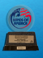 October 6: Bands of America Regional Championship, Pontiac Michigan - Division 1 Rating - Prelims