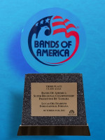 October 20: Bands of America Super Regional Championship Lucas Oil Stadium October 19-20 2012 - 3rd Place Class AAAA
